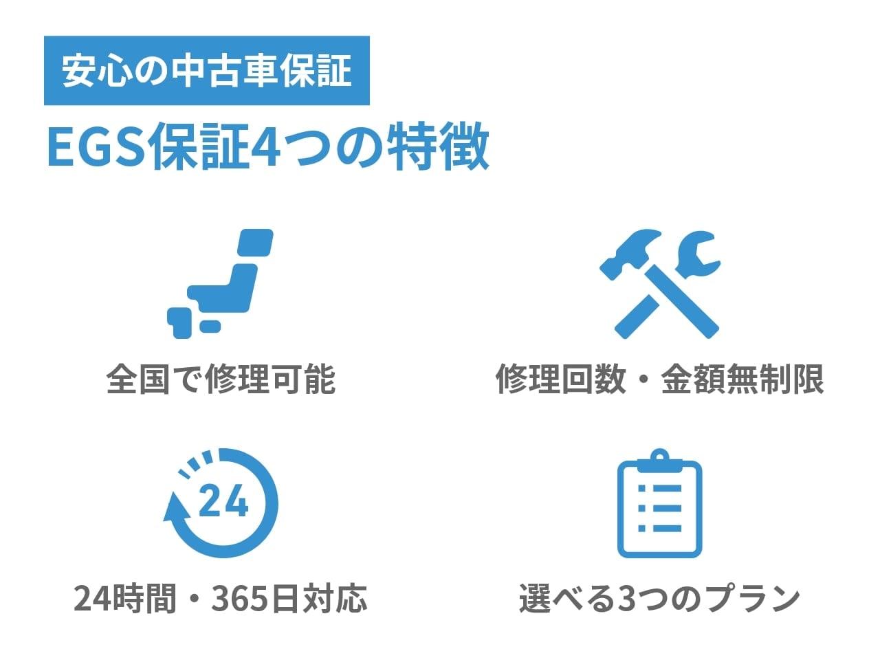 EGS補償の4つの特徴